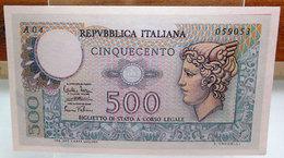 MINI BANCONOTA FAC-SIMILE CINQUECENTO LIRE - Specimen