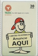 LSJP BRAZIL PHONECARD ADVERTISING - TELESC - Brésil