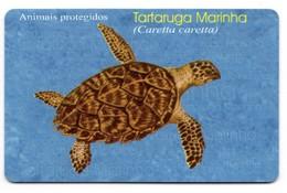 MOZAMBIQUE REF MV CARDS MZB-15 100 000MT MARIN TURTLE - Mozambique