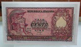 MINI BANCONOTA FAC-SIMILE CENTO LIRE 1951 - Specimen