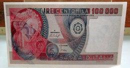 MINI BANCONOTA FAC-SIMILE 100.000 LIRE - Fictifs & Spécimens