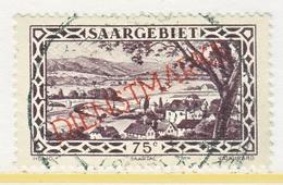 SAAR  O 24 B   (o) - Used Stamps