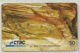 LSJP BRAZIL PHONECARD CERRADO - CTBC TELECOM - Brésil