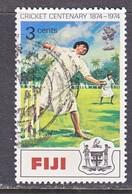FIJI 344   (o)  CRICKET - Fiji (1970-...)