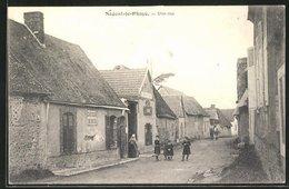 CPA Nogent-le-Phaye, Une Rue, Vue De La Rue - Francia
