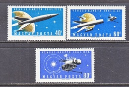 HUNGARY  1385-7   **   VENUS  SPACE  PROBE - Space
