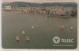 LSJP BRAZIL PHONECARD BOAT - TELESC - Brésil