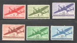 1941-4  Twin Engine Aircraft  Sc C25-31 MH - 2b. 1941-1960 Unused