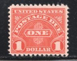 POSTAGE DUE  1956 $1  Sc J87 MNH - Postage Due