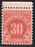 POSTAGE DUE  1956  30¢  Sc J85  MNH - Postage Due
