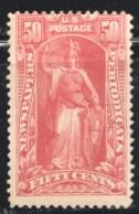 NEWSPAPERS  1895  50¢ Sc PR 119  MH - Newspaper & Periodical