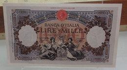 MINI BANCONOTA FAC-SIMILE LIRE MILLE 1926 - Fictifs & Spécimens