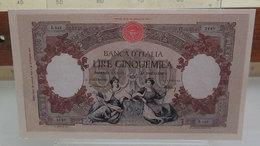MINI BANCONOTA FAC-SIMILE LIRE CINQUEMILA 1893 - Fictifs & Spécimens