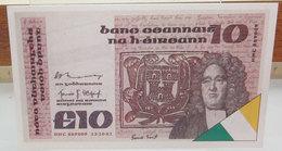 MINI BANCONOTA FAC-SIMILE 10 IRELAND - Fictifs & Spécimens
