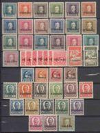 Italy Occ. Austria Complete 1918 Complete Collection Mi#1-25 Mi#I-XIV And Porto Mi#1-7 Mint Hinged - Unused Stamps