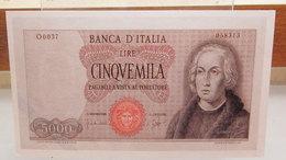 MINI BANCONOTA FAC-SIMILE LIRE CINQUEMILA - Fictifs & Spécimens