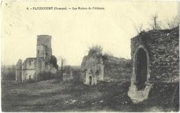 CPA DE FLIXECOURT  (SOMME)  LES RUINES DE L'ABBAYE - Flixecourt