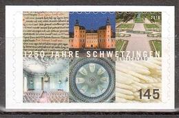 Bund MiNr. 3221 ** 1250 Jahre Schwetzingen - Nuovi