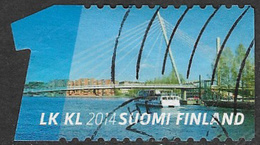 Finland 2014 Water And Bridges 1st Class Type 1 Good/fine Used [21/25890/ND] - Finland