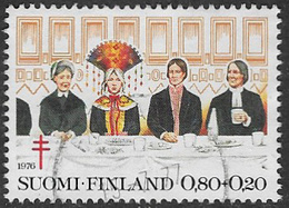 Finland SG907 1976 Tuberculosis Relief Fund 80p+20p Good/fine Used [39/31801/6D] - Finland