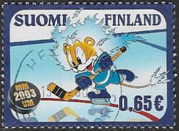 Finland SG1697 2003 World Ice Hockey Championships 65c Good/fine Used [39/31802/6D] - Finland