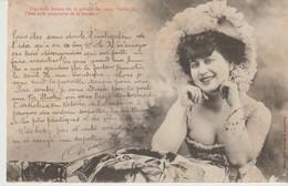 CPA - A. BERGERET - UNE BELLE FEMME EST LE PARADIS DES YEUX - L'ENFER DE L'ÂME ET LE PURGATOIRE DE LA BOURSE - Bergeret