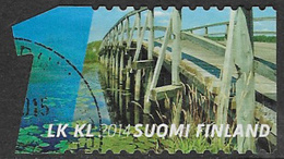 Finland 2014 Water And Bridges 1st Class Type 7 Good/fine Used [21/25893/ND] - Finnland