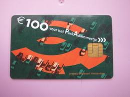 Amsterdam 100Euro Prepaid Parking Card - Phonecards