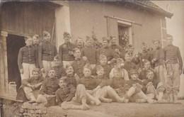 Groupe De Soldats Du 109ème Régiment D'Infanterie - Basé à Chaumont (52) - Carte Photo - Régiments