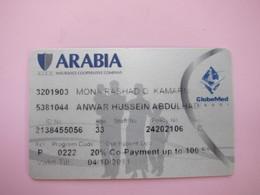 Saydu Arabia Globemed Insurance Card - Phonecards