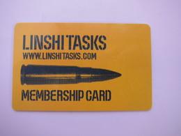 Linshi Tasks Membership Card - Phonecards