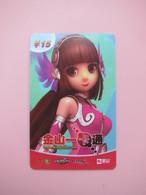 Kingsoft Internet Game Rechargable Card - Phonecards