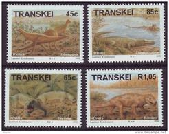 D101006 Transkei 1993 South Africa PREHISTORIC FOSSILS MNH Set - Afrique Du Sud Afrika RSA Sudafrika - Transkei