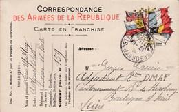 Carte Correspondance Des Armées - Pour Boulogne-Billancourt (92) - 27 Octobre 1915 - Service Trésor & Postes - SP N°159 - Marcophilie (Lettres)