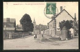 CPA Arrou, Vue Prise De La Route De Courtalain - Non Classés