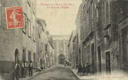 ESPIRA De L'AGLY (Pyr Or) La Rue De L' Eglise J Fau Esit Perpignan  RV - France