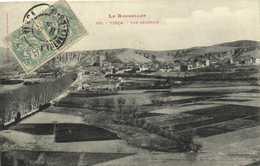 Le Roussillon VINCA  Vue Generale Labouche RV - France