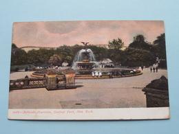 BETHSEDA FOUNTAIN ( 2067 ) Anno 19?? ( Voir Photo ) ! - Central Park