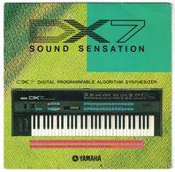 DISQUE 33 1/3  TOURS PUBLICITAIRE YAMAHA DX7 SOUND SENSATION DIGITAL PROGRAMMABLE ALGORITHM SYNTHESIZER - Formats Spéciaux