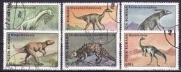 Roumanie 1994 - Animaux Prehistoriques 6v.serie Obliteree(d) - 1948-.... Republiken
