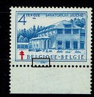 839 Bdf  **  Grosse Griffe Bleue Marge Inf. - Abarten Und Kuriositäten