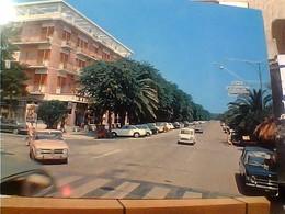 SAN BENEDETTO DEL TRONTO VIALE TRIESTE AUTO CAR ALFA ROMEO GIULIA  MINI MINOR FIAT 124 VB1971  GZ6951 - Italië
