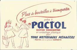 Buvard Pactol (Produit Saponite) - Tous Nettoyages Ménagers - Produits Ménagers