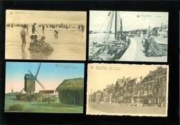 Beau Lot De 50 Cartes Postales De Belgique  La Côte Nieuport     Mooi Lot Van 50 Postkaarten Van België Kust  Nieuwpoort - Cartes Postales