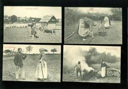 """Beau Lot De 8 Cartes Postales De France  """" La Vie Aux Champs """"      Mooi Lot Van 8 Postkaarten Van Frankrijk - 8 Scans - Cartes Postales"""