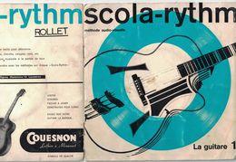 DISQUE 33  1/3 TOURS PUBLICITAIRE METODE SCOLA-RYTM LA GUITARE - Formats Spéciaux