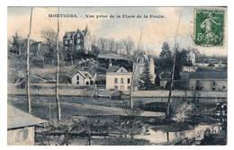 53 MAYENNE - MONTSURS Vue Prise De La Place De La Poulie - France