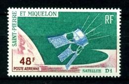 SPM - PA 35 - 48F Satellite D1 - Neuf N** - Très Beau - Airmail