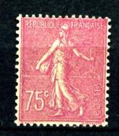 202 - 75c Lilas-rose Semeuse Lignée - Neuf N** - Très Beau - 1903-60 Sower - Ligned