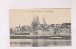 CPA DPT 41 BLOIS, L HOSPICE ET L EGLISE ST NICOLAS - Blois